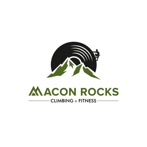 Logo concept for Macon Rocks!