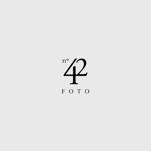 Elegant logo design for wedding photography company