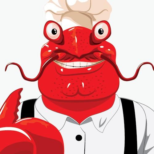 Crawfish Mascot