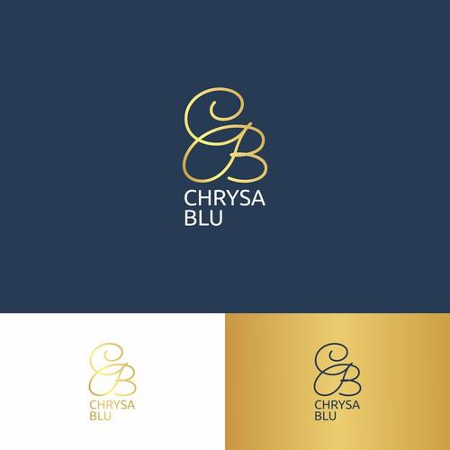 simple logo concept for CHRYSA BLU