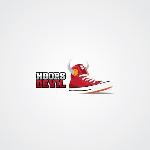 The Devils wear's ... sneakers!