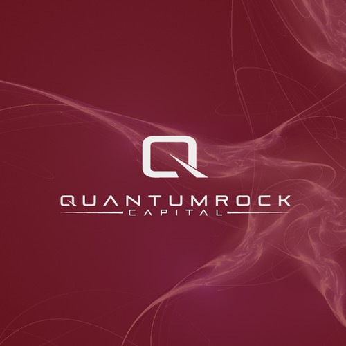 Create Design and the CI for QUANTUMROCK; fast growing technology firm in capital investments