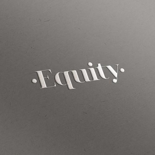 Elegant logo for a law firm.