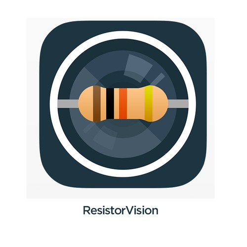 App icon for ResistorVision