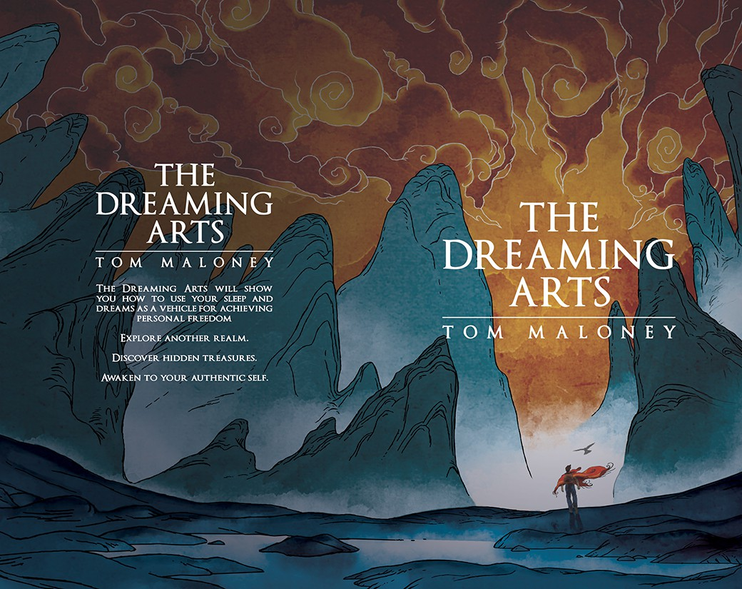 Need Cover for Book: The Dreaming Arts (a book about sleep and dreams)