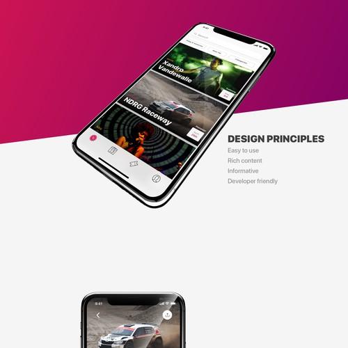 event iOS concept