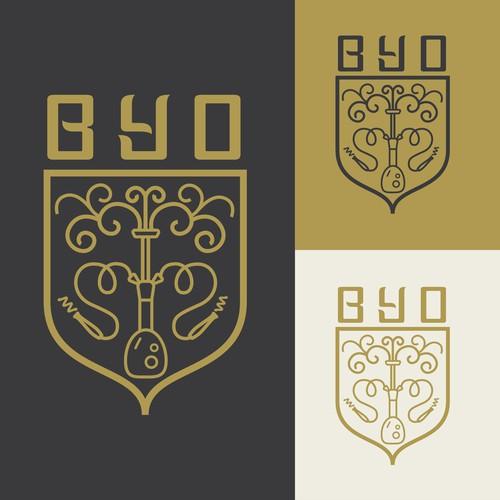 Logo for BYO hookah