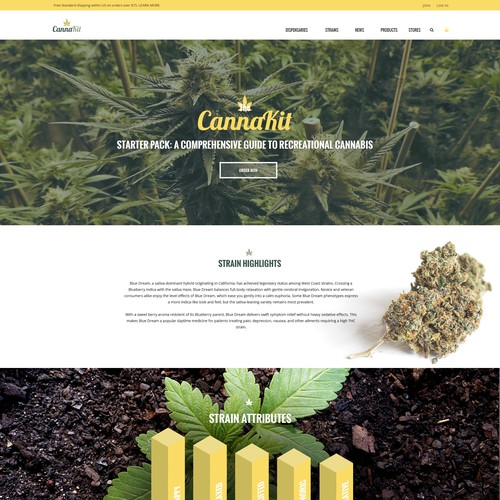 Flat design for Cannakit