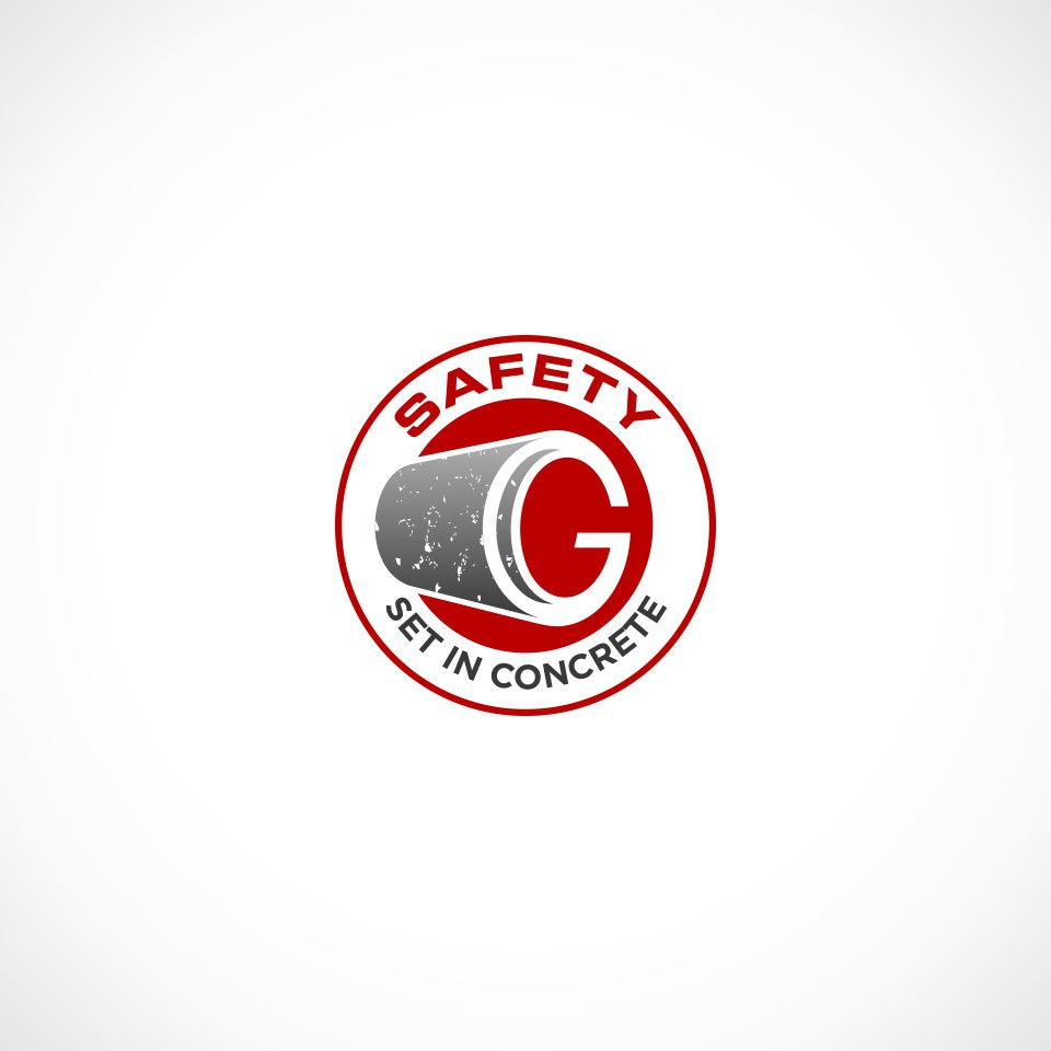 Create a hard-hitting safety campaign logo for a concrete pipe manufacturing company, Geneva Pipe.