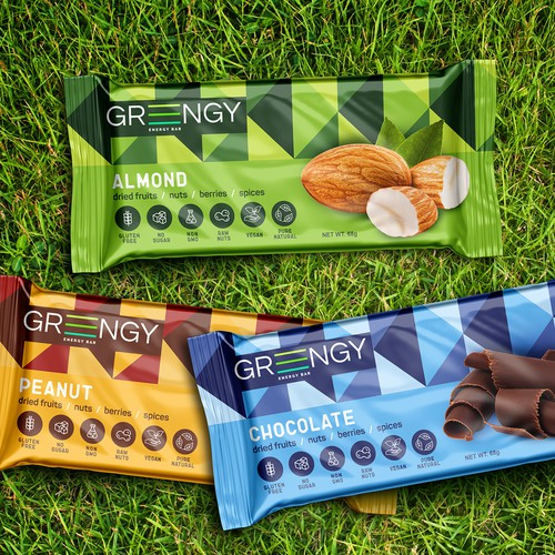 Packing Energy Bar Greengy