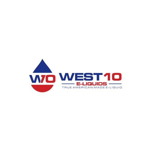 Create a Modern, Hip logo for WEST10 E-Liquids