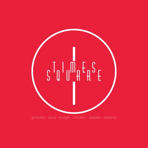Times square logo concept