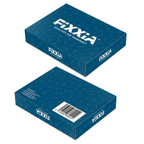 Fixxia box design