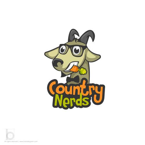 Logo Design for Country Nerds