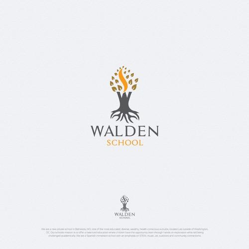 Walden School logo