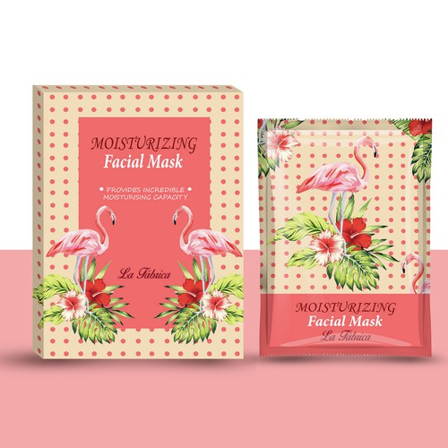 Fresh and unconventional design for mask packaging