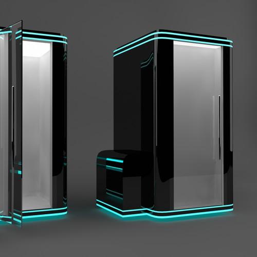 Cryo cabin design