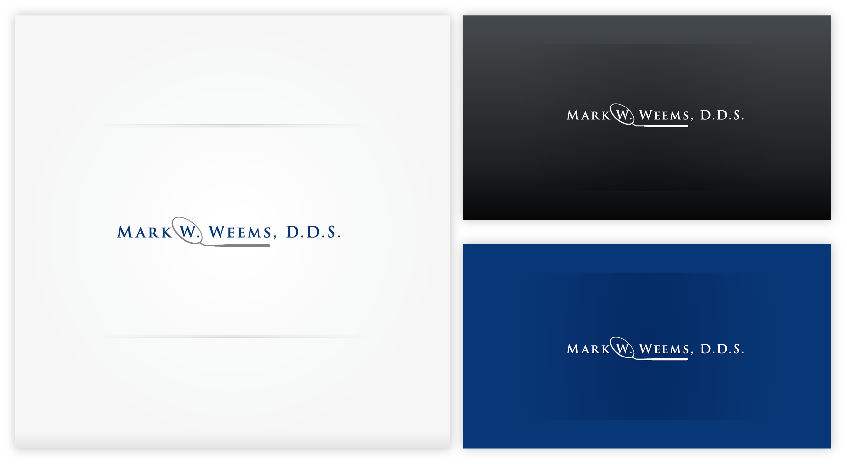 Help Mark W. Weems, D.D.S. with a new logo