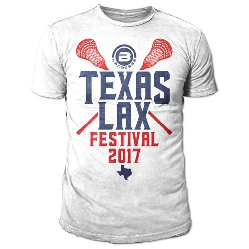 TEXAS LAX FESTIVAL 2017 T-SHIRT
