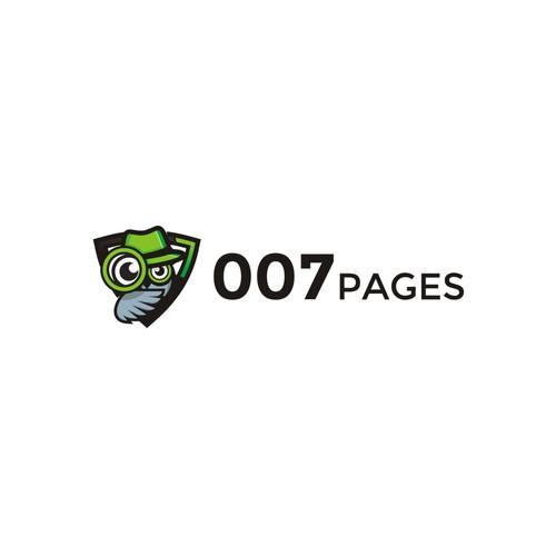 Design for 007pages.com. Bond, James Bond.