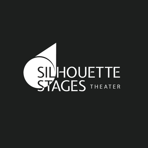 [ Available For Purchase ] -- declined logo proposal for Silhouette Stages Theater