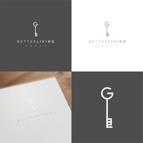 BetterLiving Real Estate Logo Design