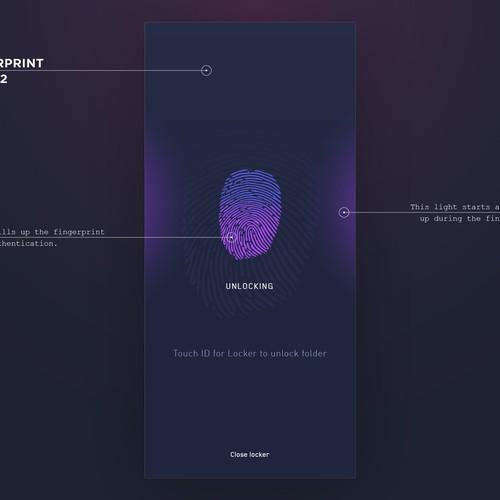 Lock private files - app