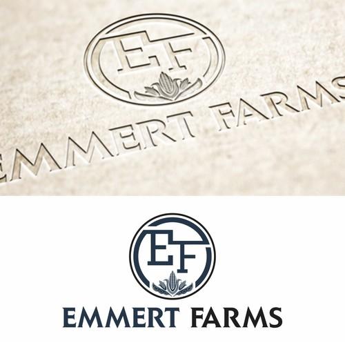 logo for Emmert Farms