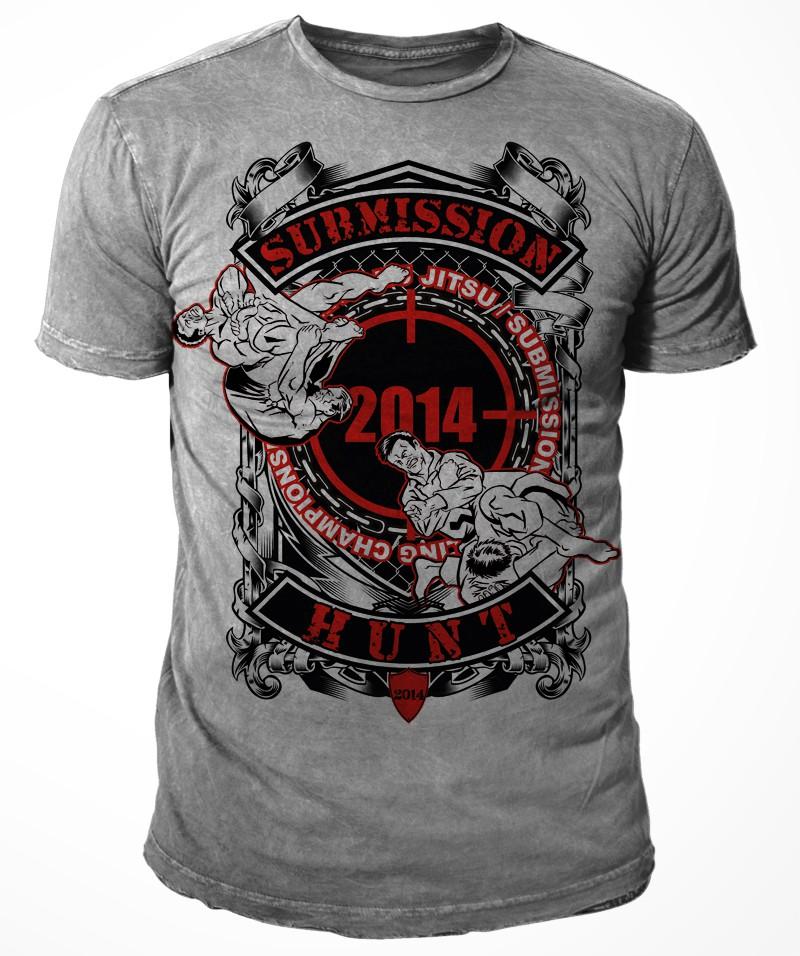 MMA / Combat Sports Tournament - t-shirt design required