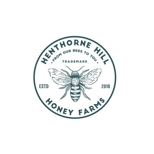 Logo for Honey Farm - Henthorne Hill Honey Farms
