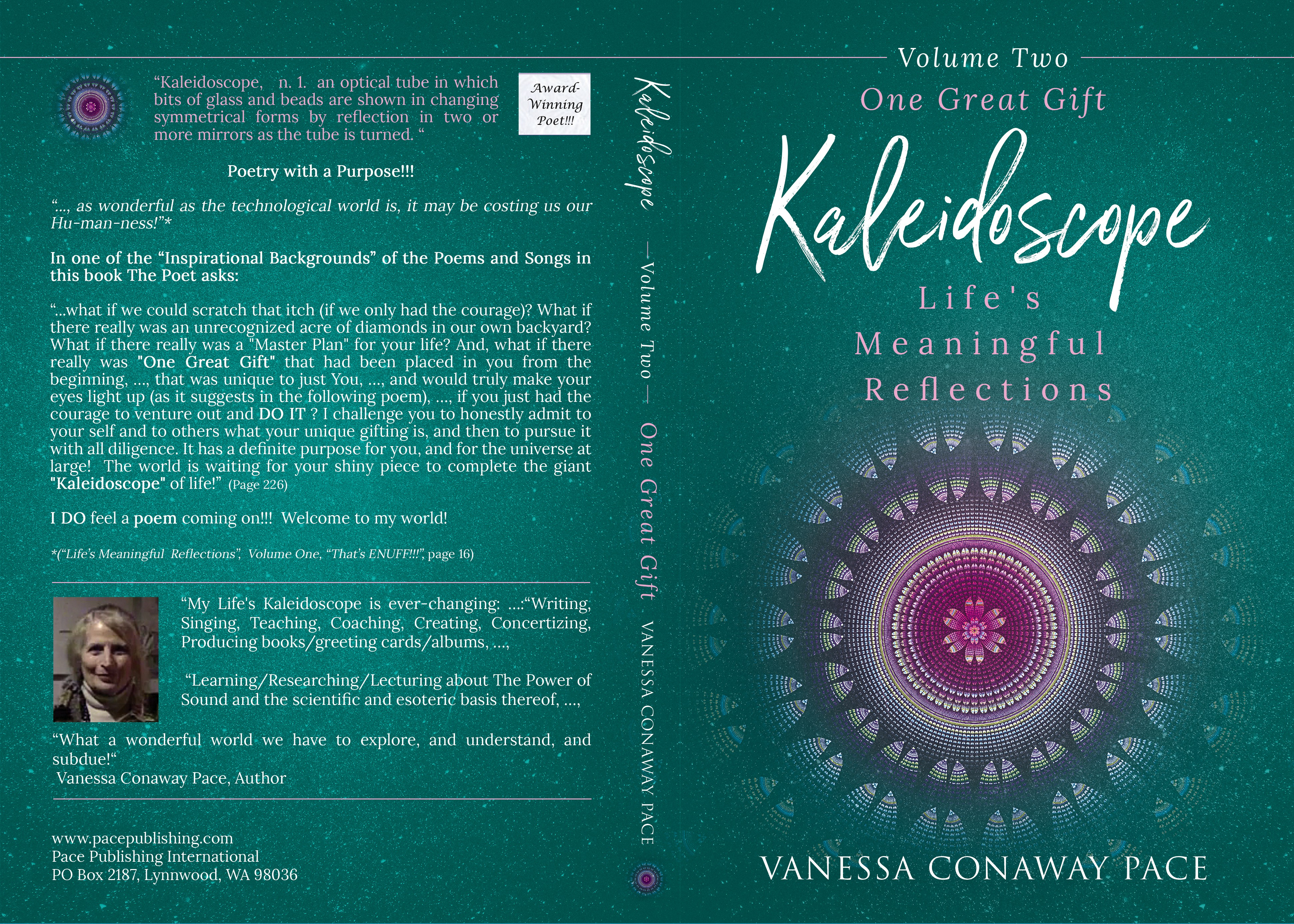 """Kaleidoscope:  Life's Meaningful Reflections, Volume 2 """"One Great Gift"""""""
