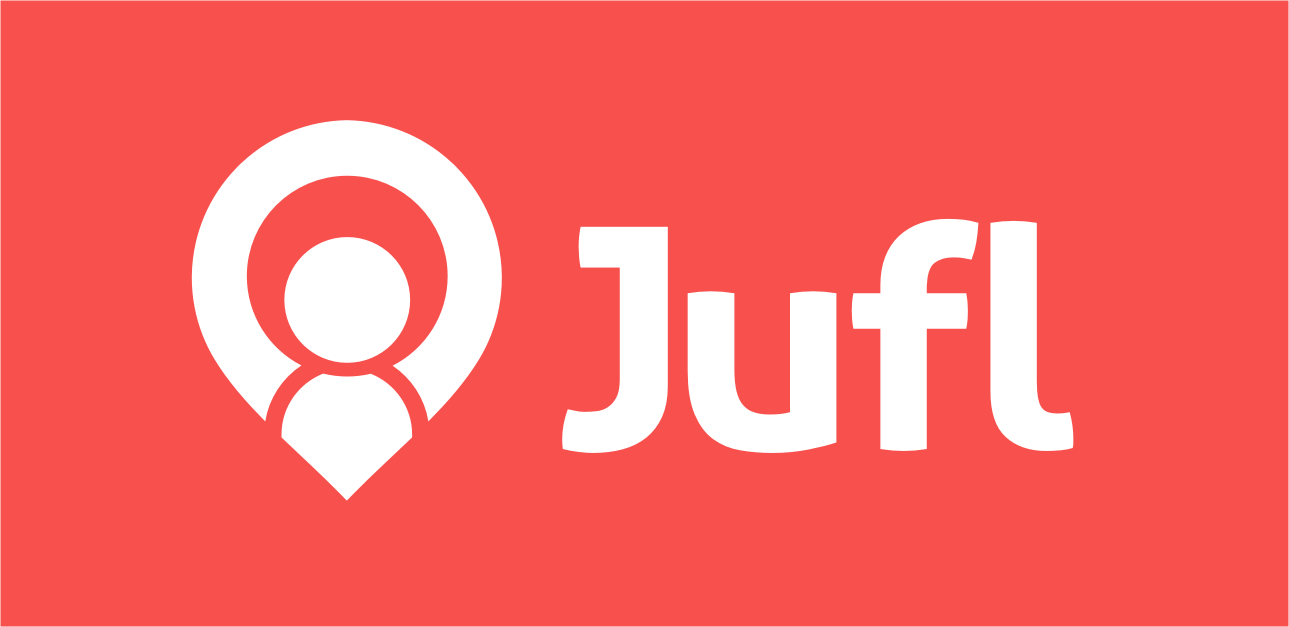 Design logo for Jufl, the social app for meeting with friends last-minute
