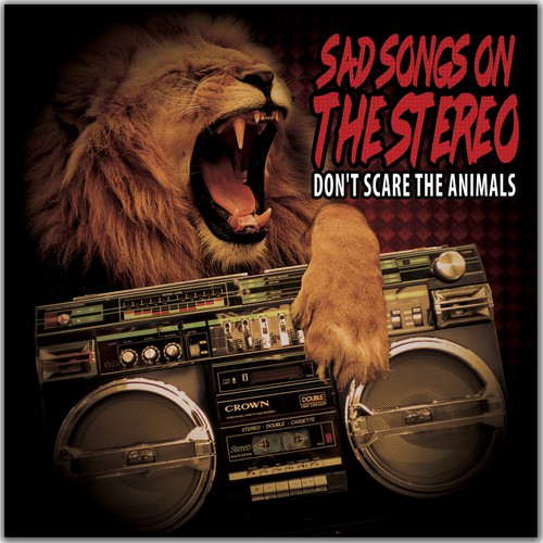 CD cover for Rock Band '' Don't scare the Animals''