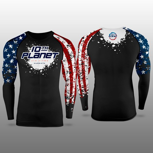 Jiu Jitsu Long sleeve rash guard