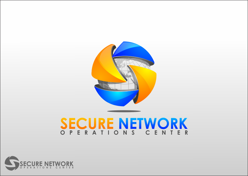 Create the next logo for Secure Network Operations Center