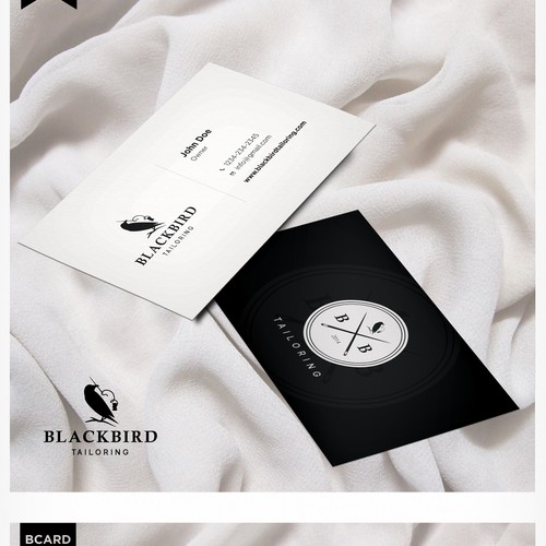 Logo Design for Blackbird Tailoring & Design