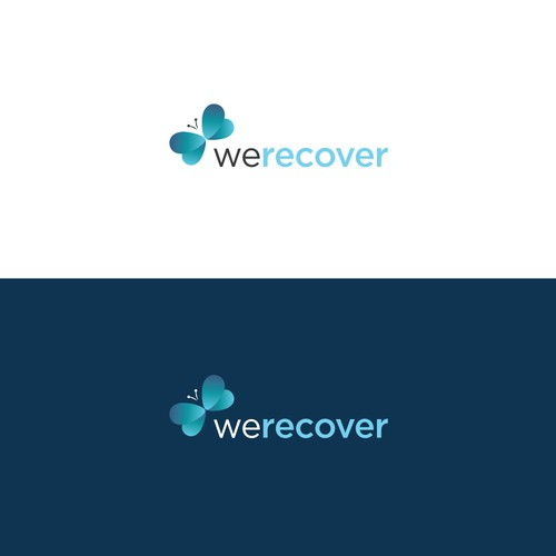 Contemporary logo for addiction rehab website