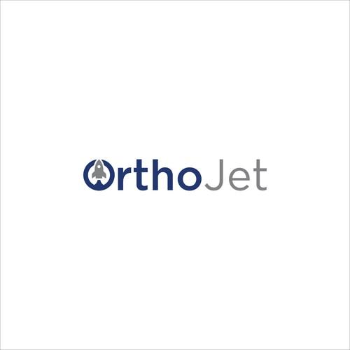 Logo design for OrthoJet