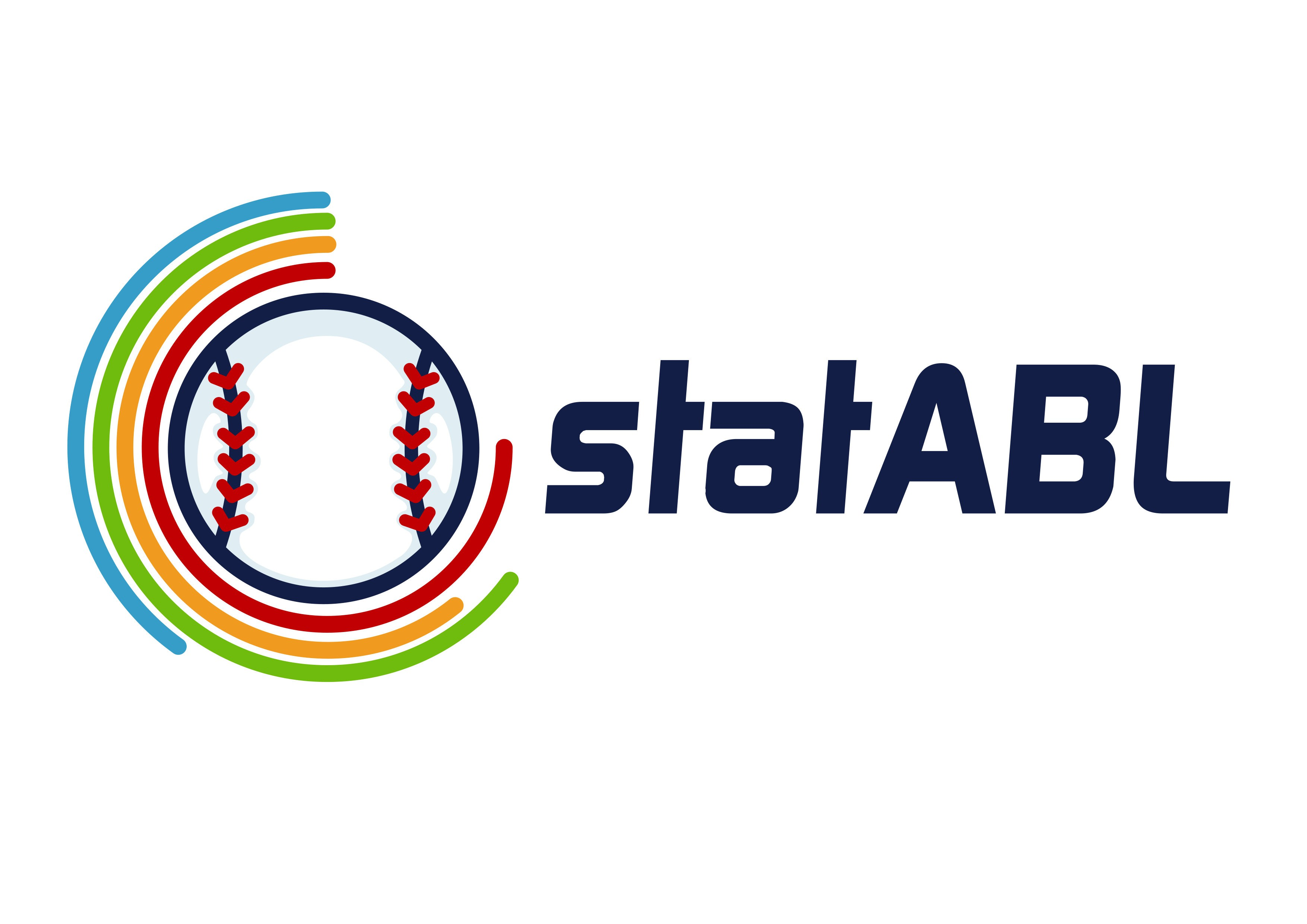 Design a logo for a baseball site that appeals to sports fans and stats nerds