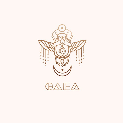 Bold logo for highfashion house GAEA