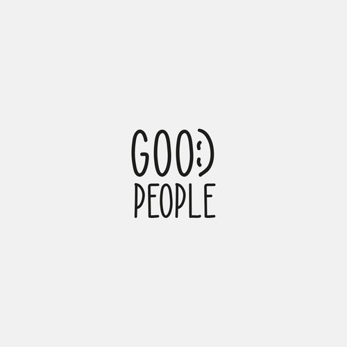 Design a unique logo for a brand called Good People