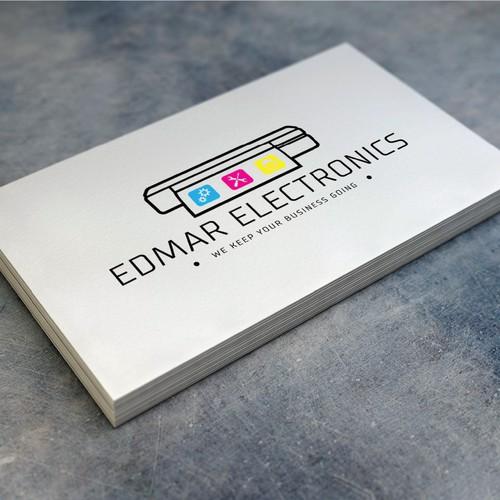 Printer maintenance company logo