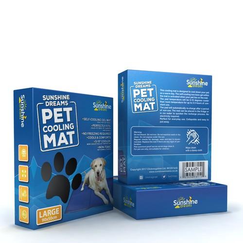 PET COOLING MAT BOX