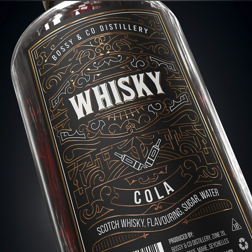 Retro Whisky Cola