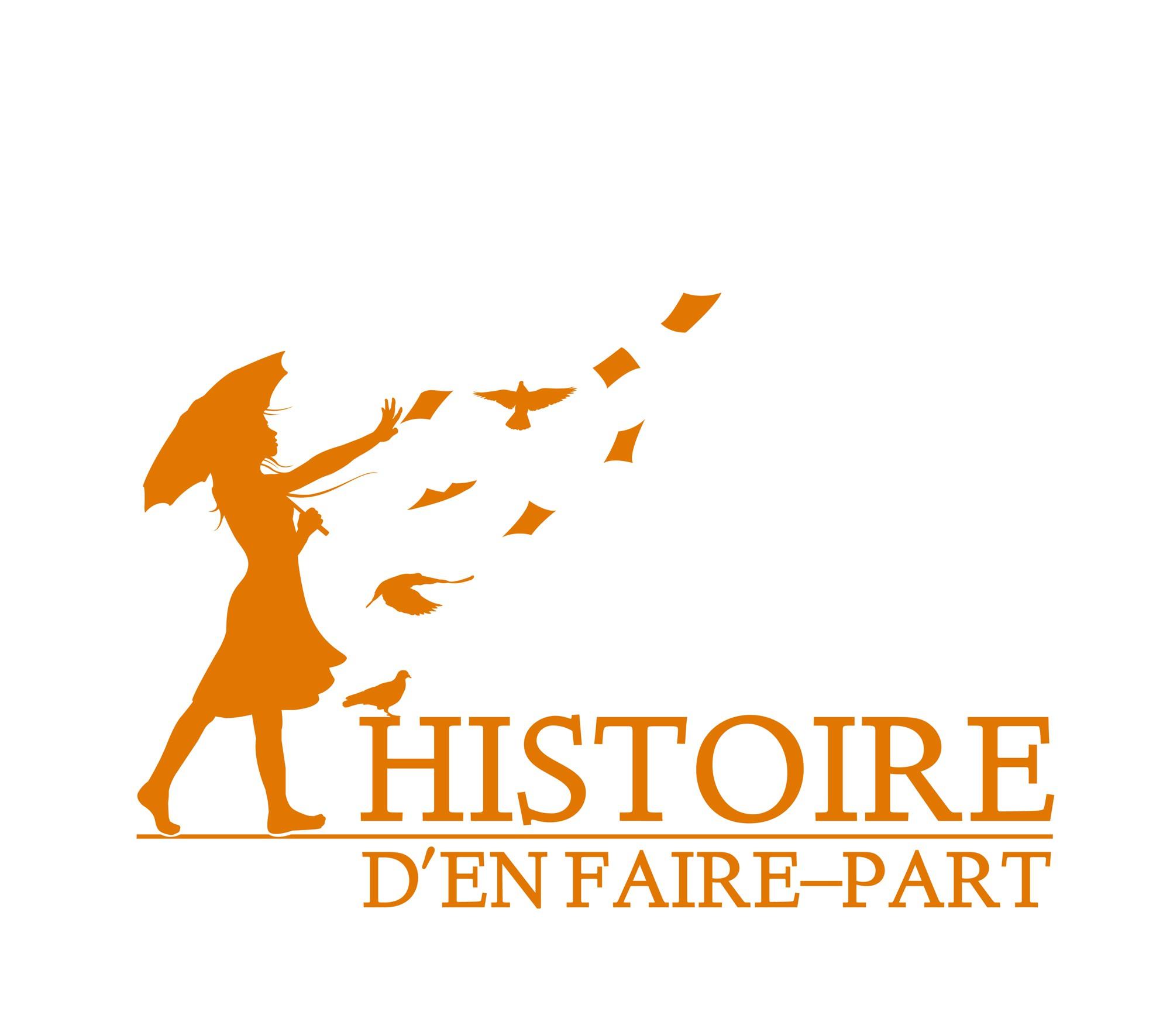 Nouveau projet dans la catégorie logo pourHistoire d'en Faire-part