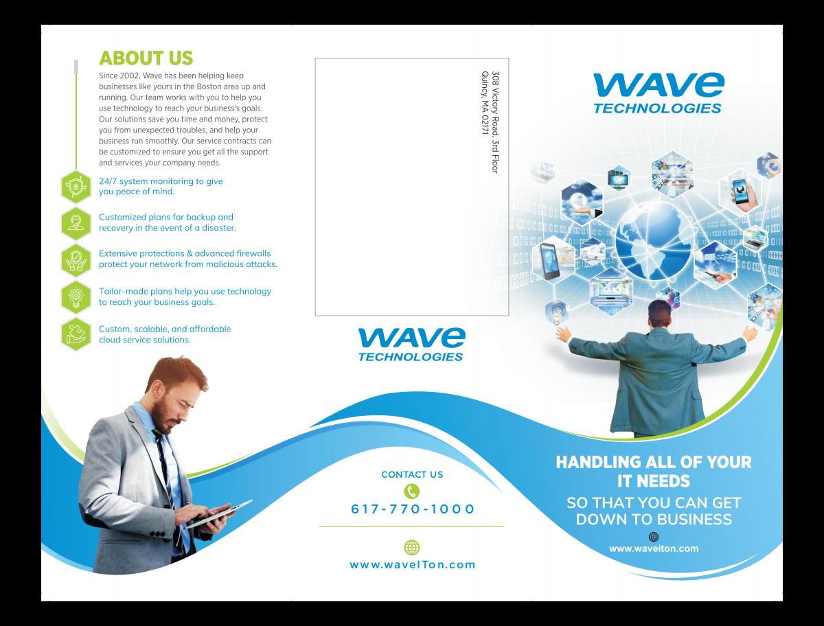Wave Tri-fold Brochure