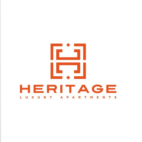 Heritage Luxury Apartments NEEDS A NEW LOGO!!!