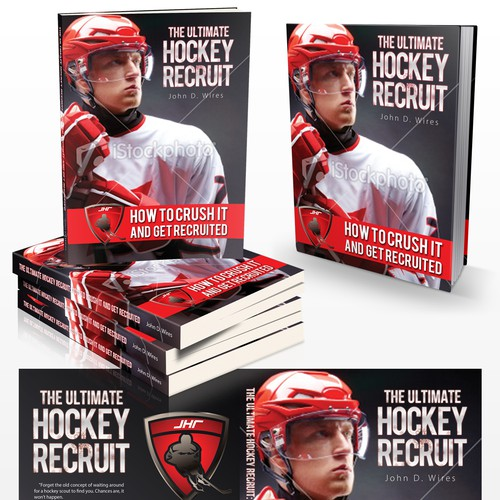 "Book Cover for ""The Ultimate Hockey Recruit"""
