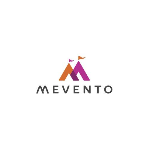 Mevento logo design