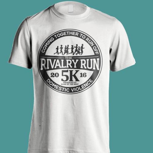 2016 Rivalry Run T-shirt